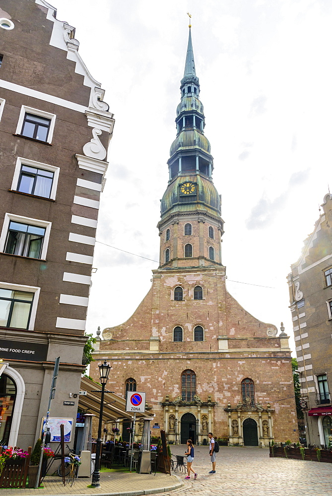 St. Peter's Church, Old Town, UNESCO World Heritage Site, Riga, Latvia, Europe