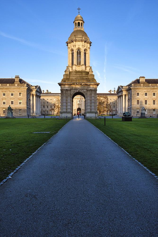 Trinity College, Dublin, Republic of Ireland, Europe - 1240-315