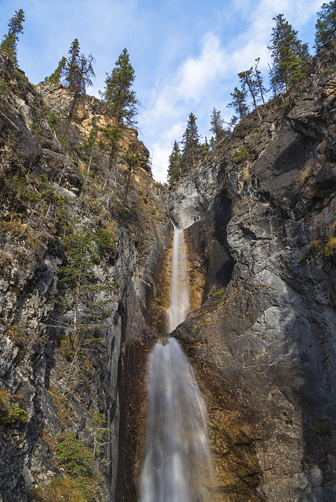 Silverton Falls, Banff National Park, UNESCO World Heritage Site, Alberta, Canadian Rockies, Canada, North America - 1241-243