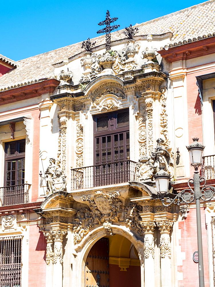 Archbishop's Palace, Seville (Sevilla), Andalucia, Spain, Europe - 1242-114