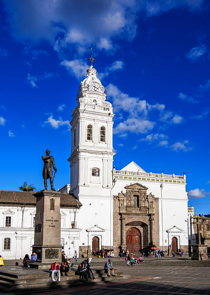 Church of San Domingo, Plaza de Santo Domingo, Old Town, UNESCO World Heritage Site, Quito, Pichincha Province, Ecuador, South America