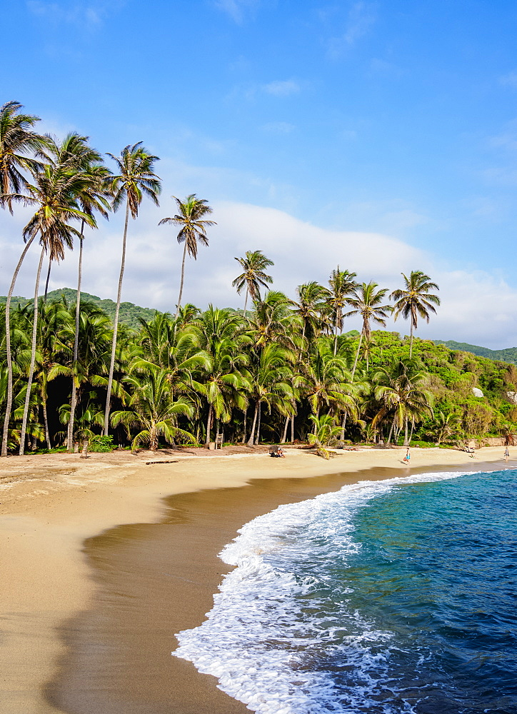 El Cabo San Juan del Guia beach, Tayrona National Natural Park, Magdalena Department, Caribbean, Colombia - 1245-1387