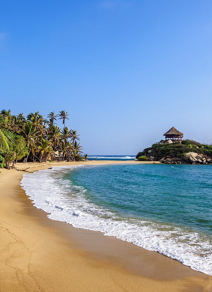 El Cabo San Juan del Guia beach, Tayrona National Natural Park, Magdalena Department, Caribbean, Colombia - 1245-1390