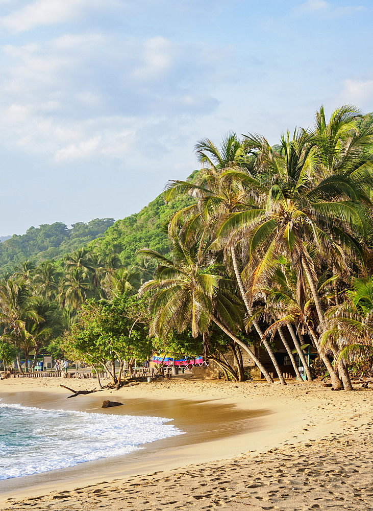 El Cabo San Juan del Guia beach, Tayrona National Natural Park, Magdalena Department, Caribbean, Colombia - 1245-1398