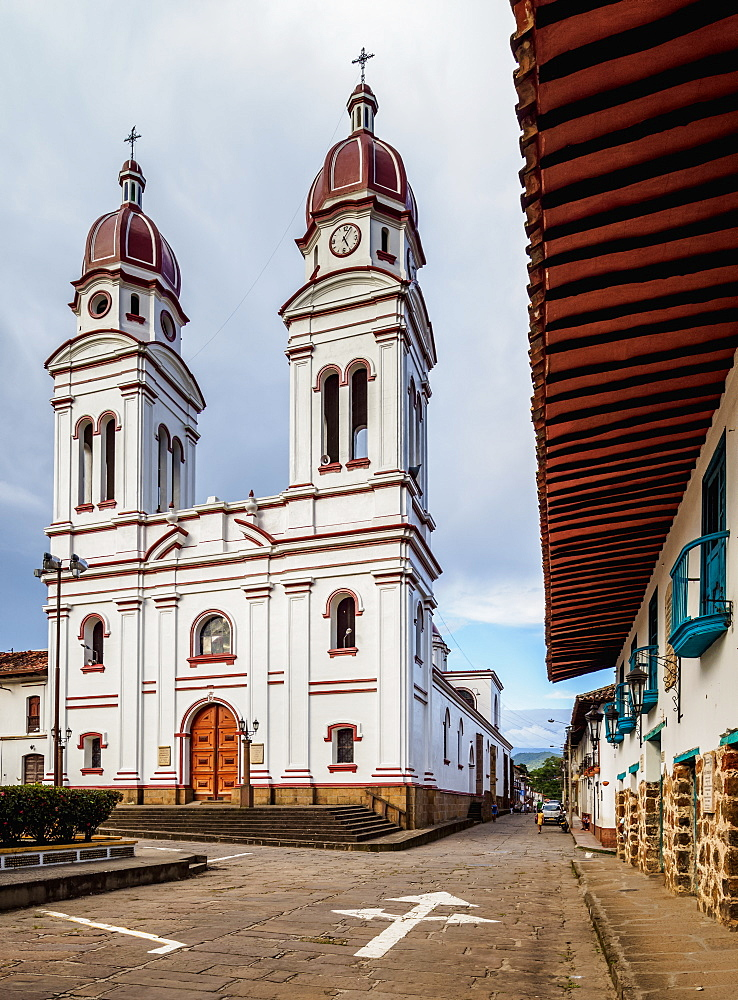 Nuestra Senora de Mongui Church, Charala, Santander Department, Colombia, South America