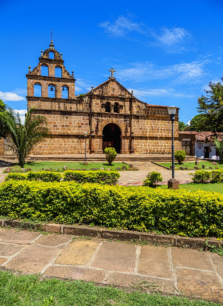 Santa Lucia Church, Guane, Santander Department, Colombia, South America