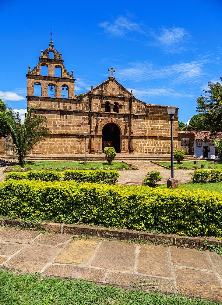 Santa Lucia Church, Guane, Santander Department, Colombia - 1245-1415
