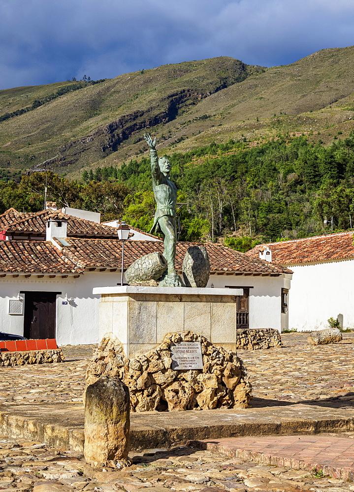 Antonio Ricuarte Monument, Villa de Leyva, Boyaca Department, Colombia - 1245-1423