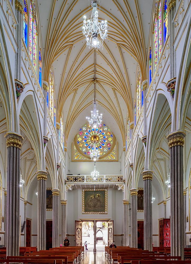 Las Lajas Sanctuary, interior, Narino Departmant, Colombia - 1245-1429