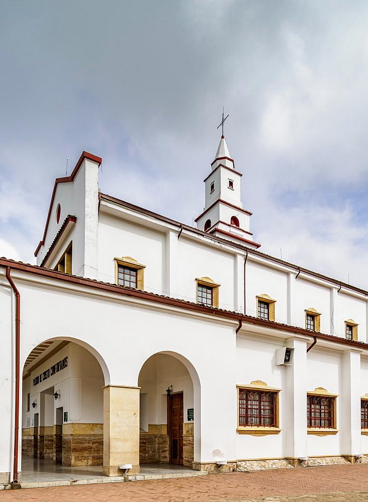 Monserrate Sanctuary, Bogota, Capital District, Colombia - 1245-1444