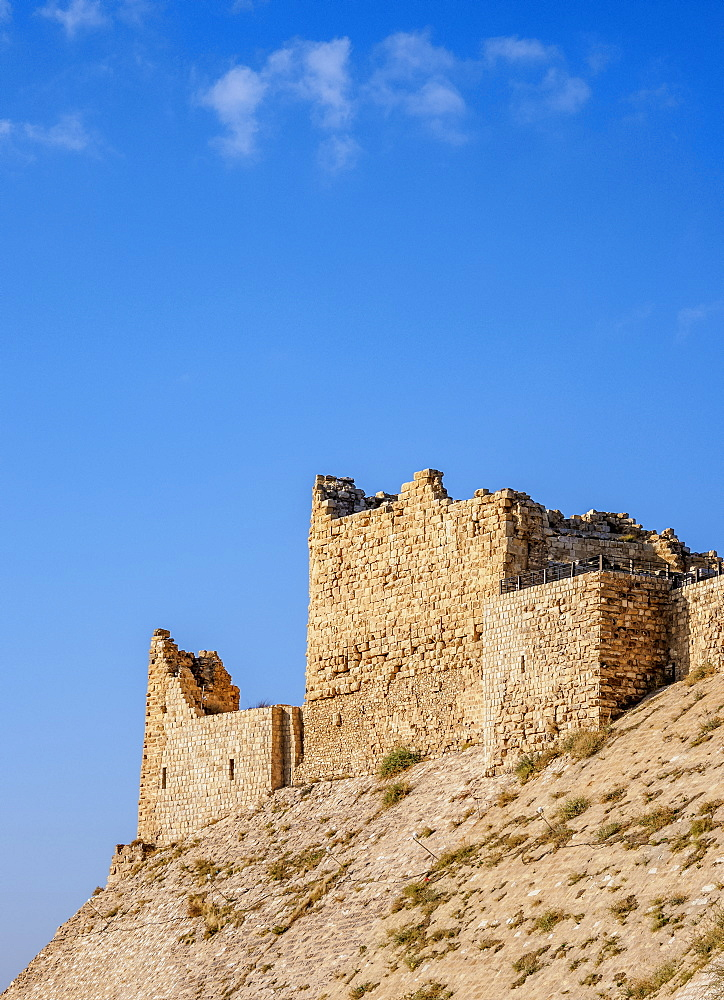 Kerak Castle, Al-Karak, Karak Governorate, Jordan, Middle East
