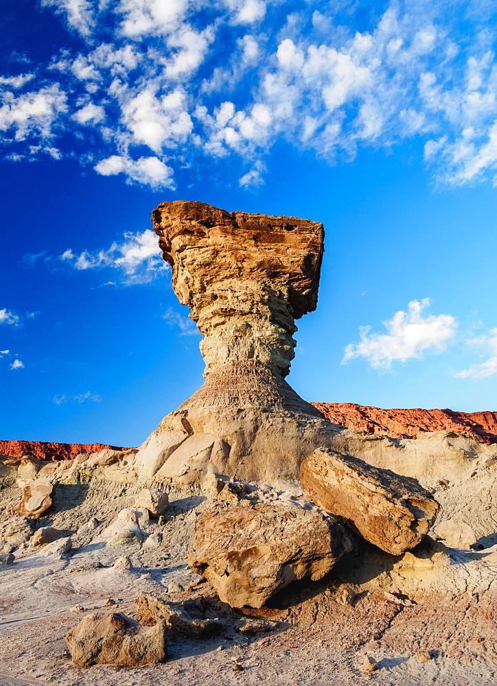 The Mushroom Rock Formation, Ischigualasto Provincial Park, UNESCO World Heritage Site, San Juan Province, Argentina