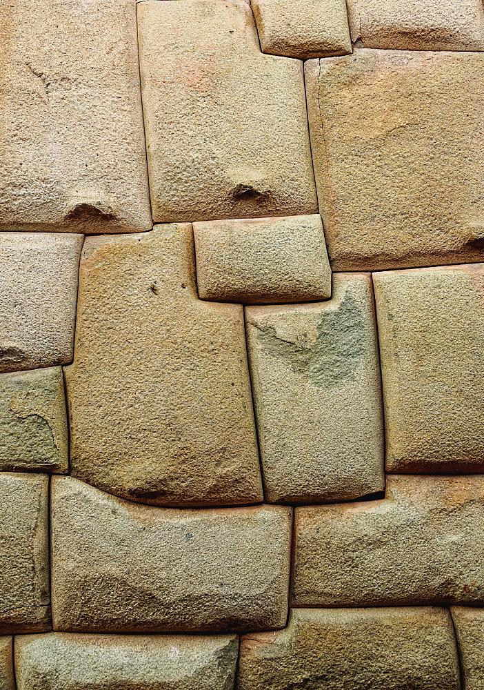 Inca Stonework, Hatunrumiyoc Street, Cusco, Peru - 1245-613