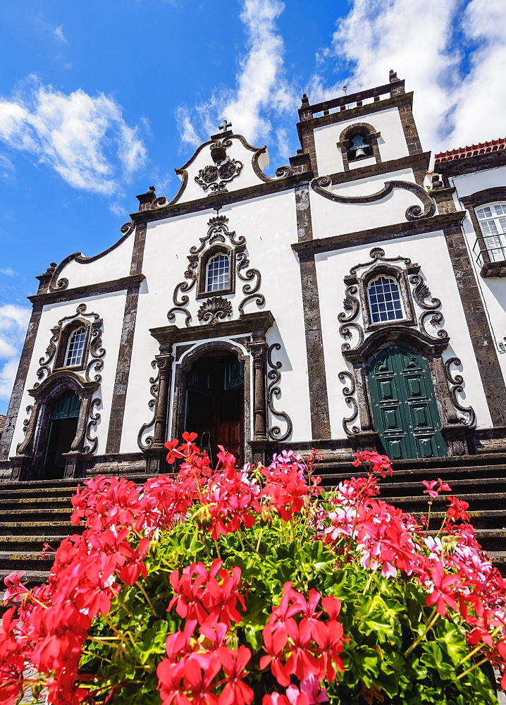 Church of Senhor da Pedra, Vila Franca do Campo, Sao Miguel Island, Azores, Portugal, Atlantic, Europe