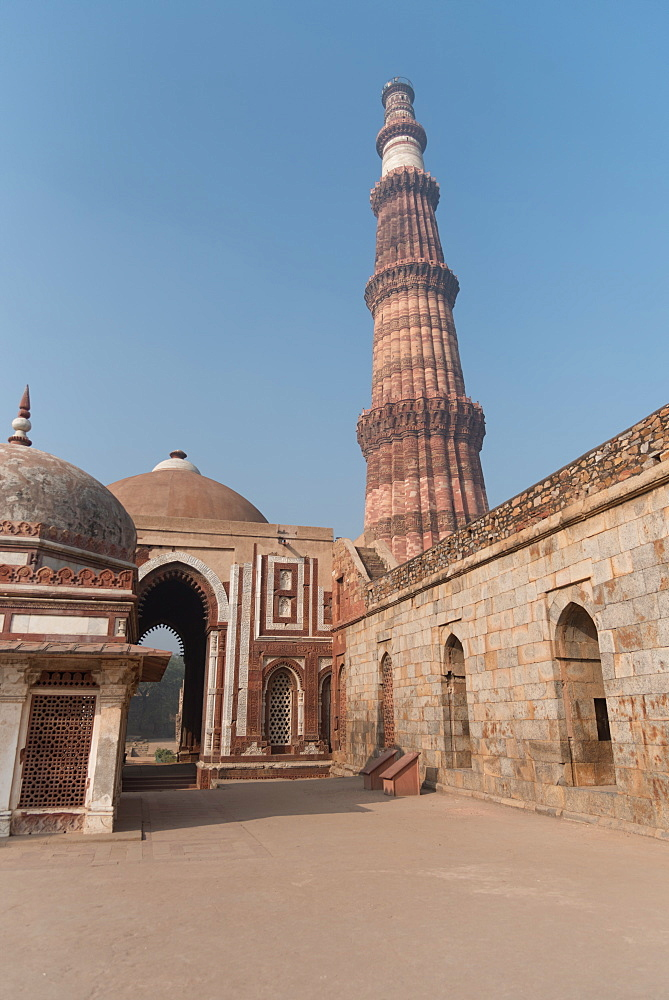 December 2018, Qutub Minar, New Delhi, India