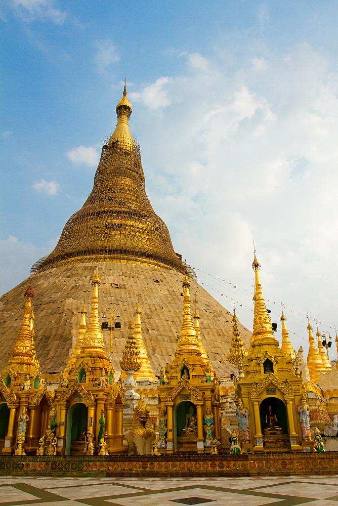 Shwedagon Pagoda, Yangon (Rangoon), Mynamar (Burma), Asia