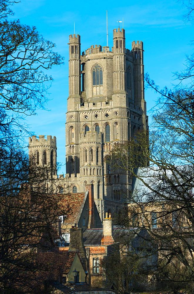 Ely Cathedral, City of Ely, Cambridgeshire, England, United Kingdom, Europe