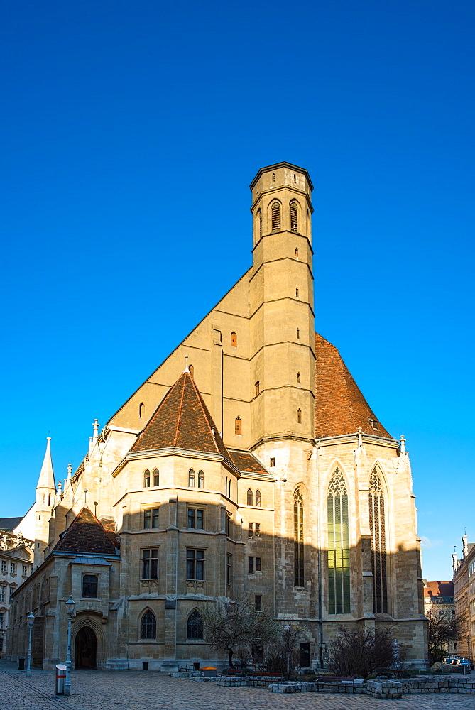 Minoritenkirche (Minorities Church) circa 1350 at Minoritenplatz, ), Vienna, Austria.