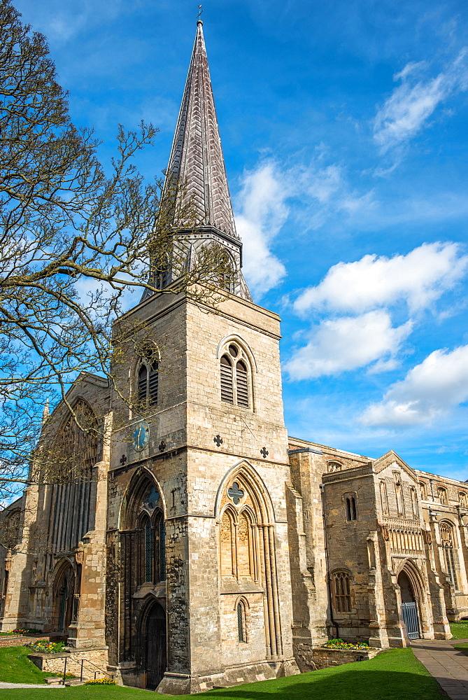 Saint Nicholas Chapel, England's largest surviving Parochial chapel from the 15th century, Kings Lynn, Norfolk, England, United Kingdom, Europe