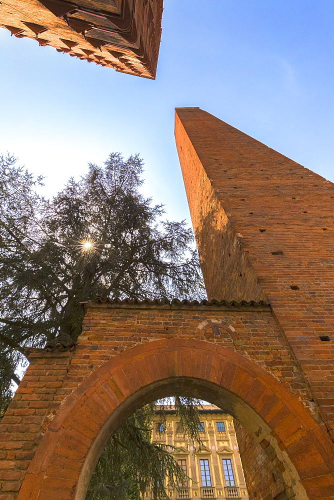 Medieval towers of Pavia, Pavia province, Lombardy, Italy, Europe - 1269-179