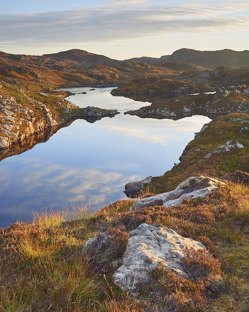 Maiden Loch, Assynt, Highlands, Scotland, United Kingdom, Europe