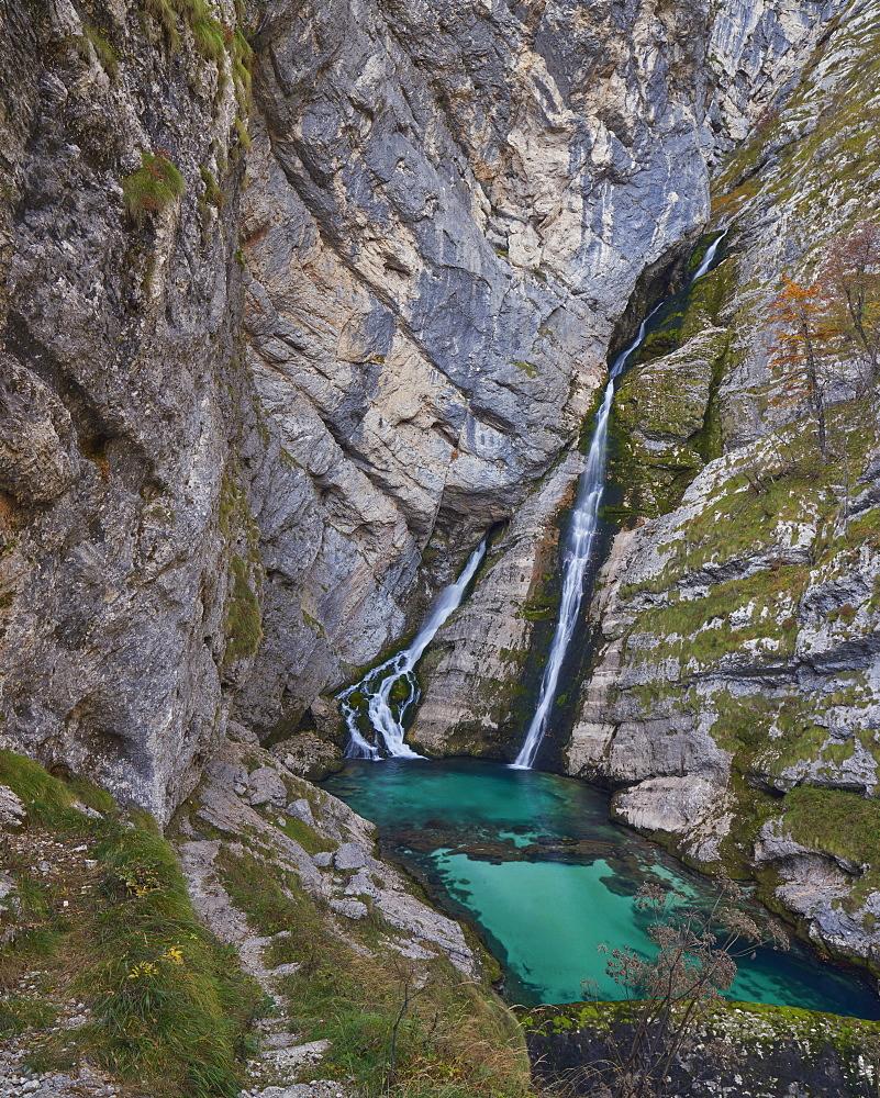 Slap Savica (Savica Falls), Triglav National Park, Slovenia, Europe