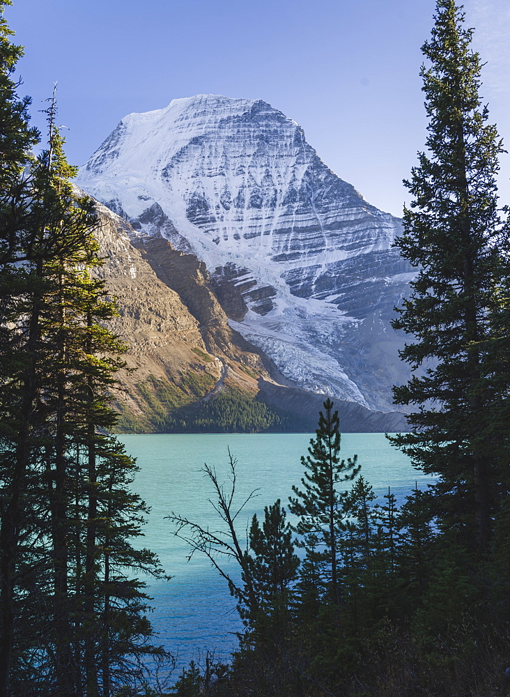 Mount Robson, UNESCO World Heritage Site, Canadian Rockies, British Columbia, Canada, North America - 1275-46