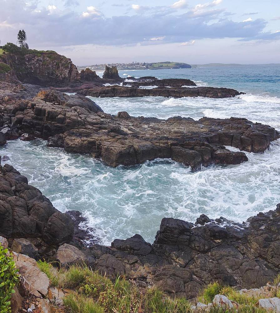 The Cathedral Rocks along the Grand Pacific Drive, Kiama, New South Wales, Australia, Pacific