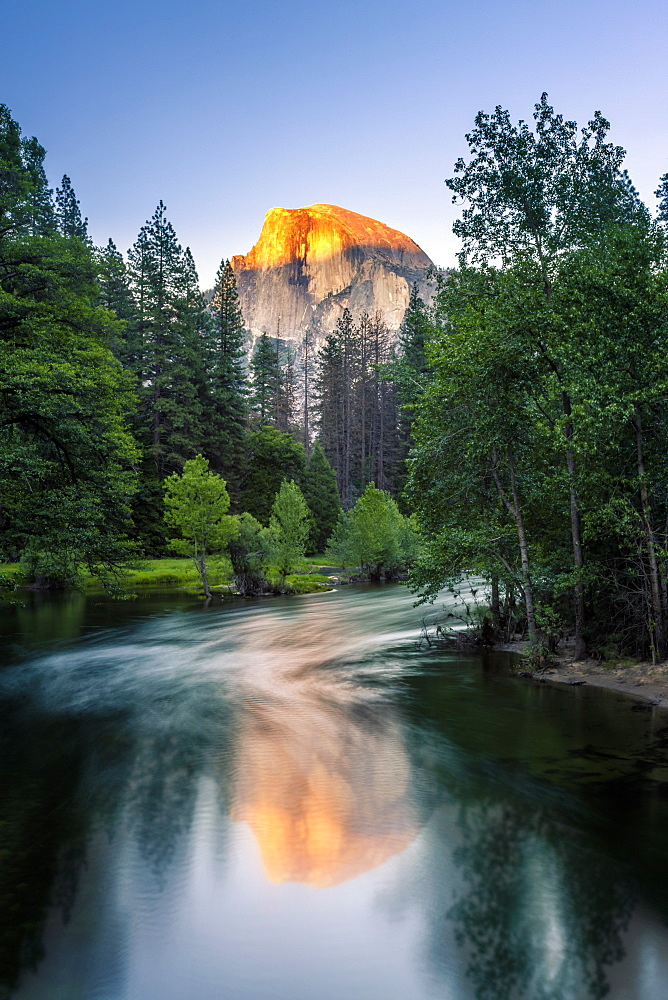 Half Dome, Yosemite National Park, UNESCO World Heritage Site, California, United States of America, North America - 1276-194