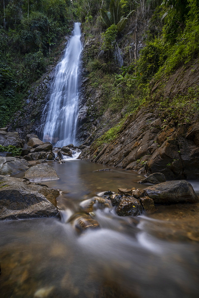 Khun Korn Forest Park Waterfall, Chiang Rai, Northern Thailand, Thailand, Southeast Asia, Asia