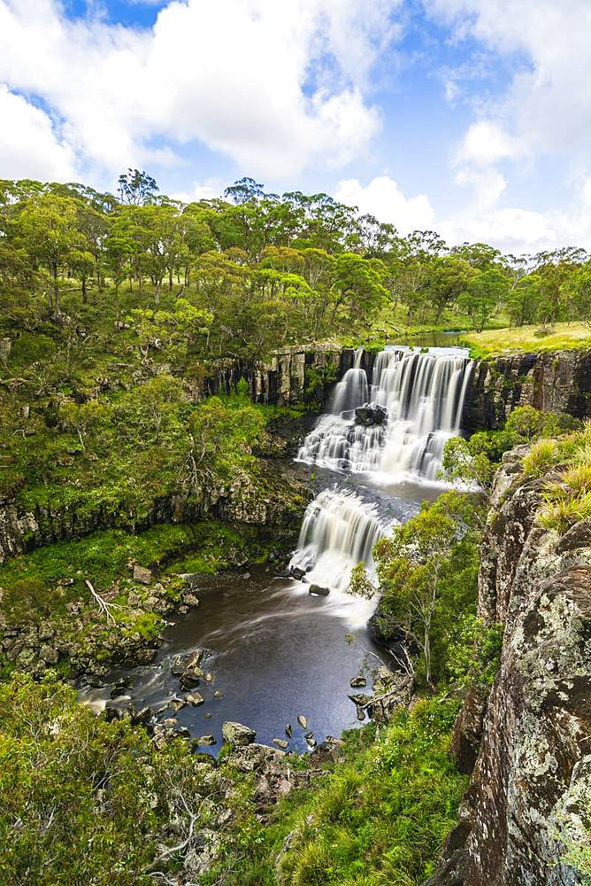 Upper Ebor Falls in the Guy Fawkes River National Park in Country New South Wales Australia