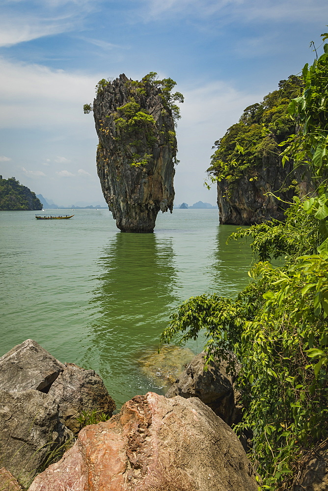 James Bond Island, Phang Nga Bay, Thailand, Southeast Asia, Asia - 1286-81