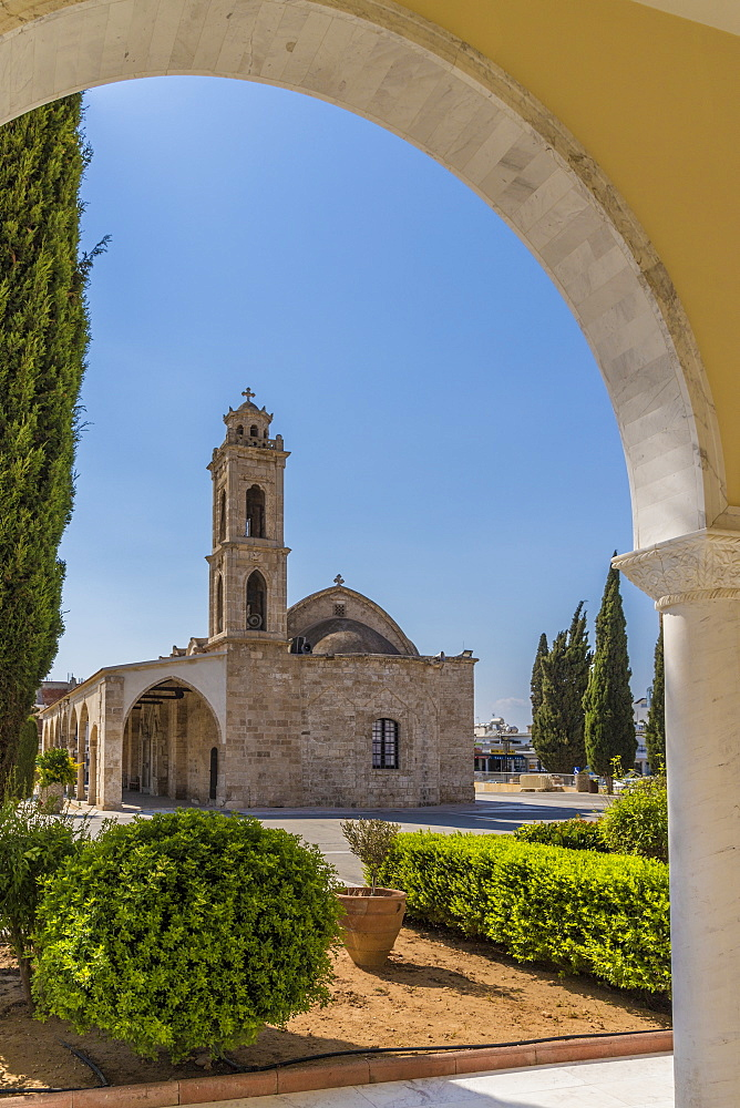 St. Georges old church in Paralimni, Cyprus, Europe - 1297-1091