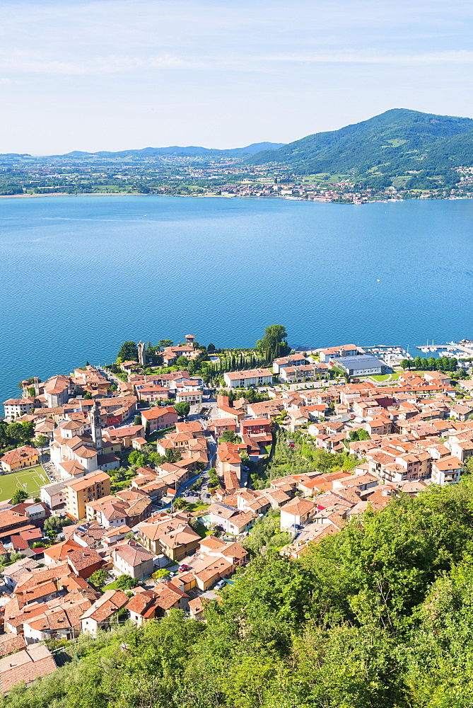 Predore, Iseo Lake, Bergamo province, Lombardy district, Italy, Europe - 1299-10