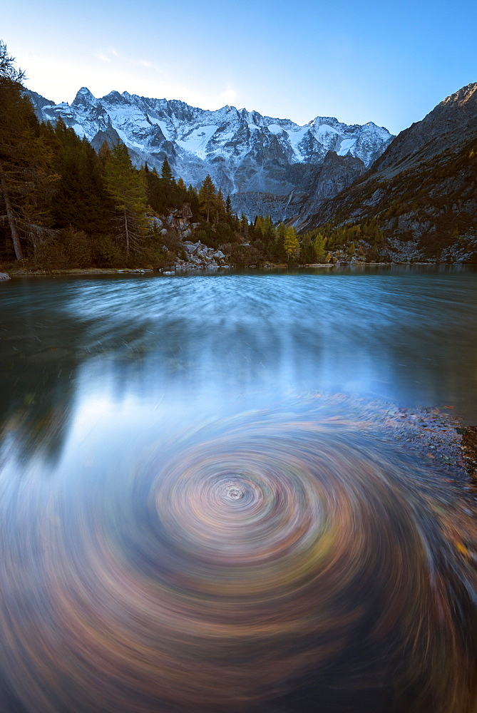 Aviolo Lake in Adamello Park, Vezza d'Oglio, Brescia province, Lombardy, Italy, Europe - 1299-23