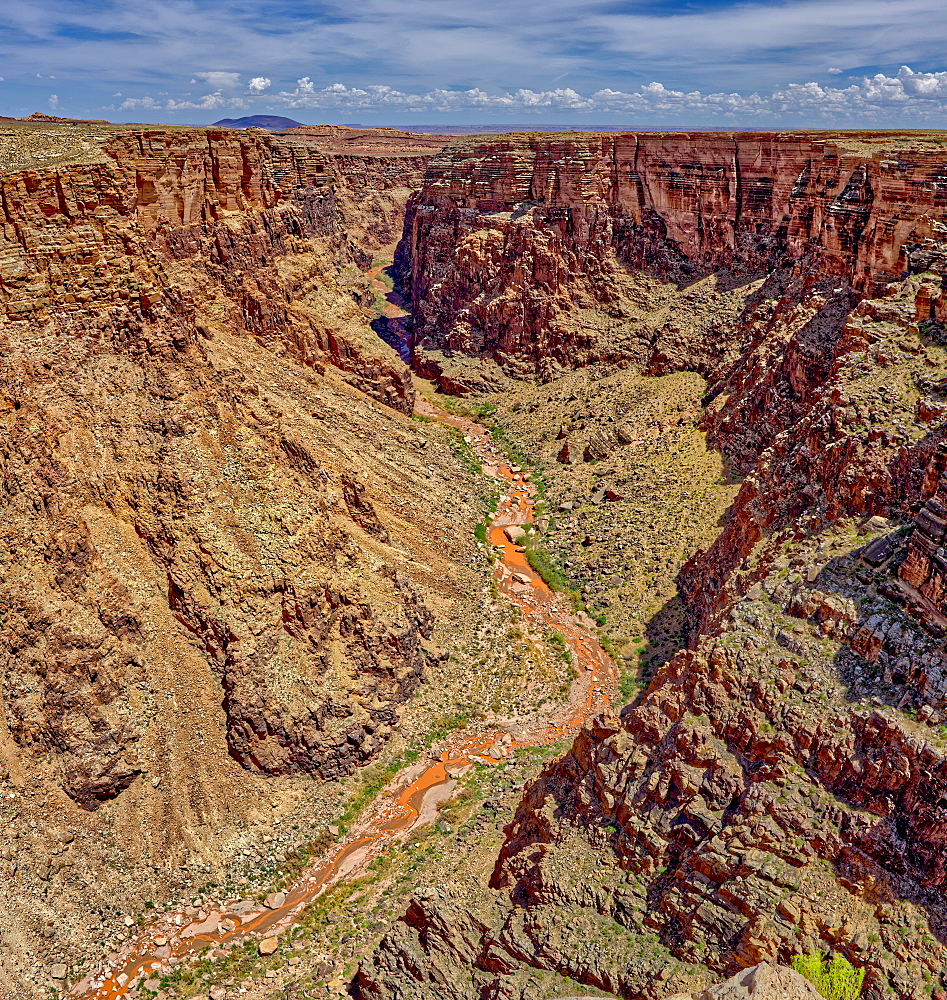 An area of the Little Colorado River Gorge east of the Grand Canyon Arizona.