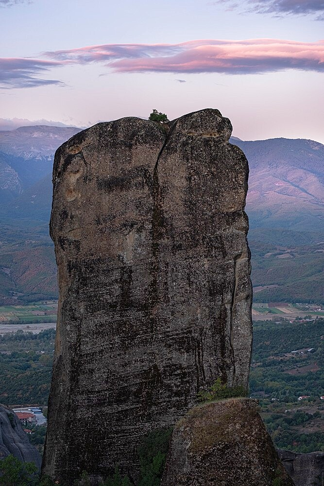 Rocks formation in Meteora, Thessaly, Greece - 1336-157
