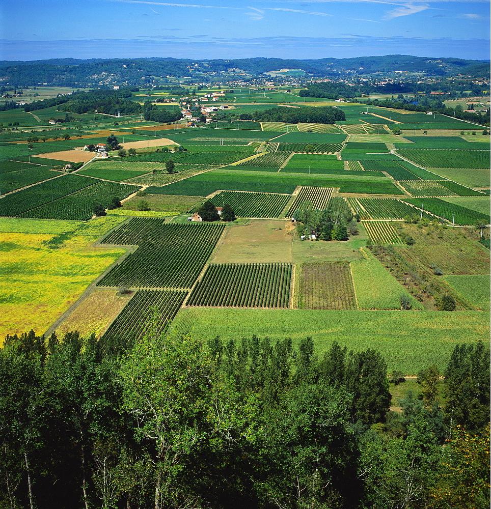 Rural Landscape, Dordogne, Aquitaine, France - 136-1826