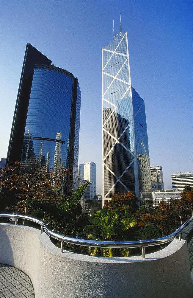 Citibank and China Bank Towers, Hong Kong, China - 142-4956