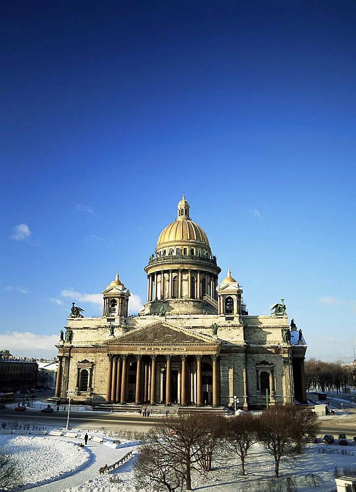St. Isaac's Cathedral, St. Petersburg, Russia, Europe