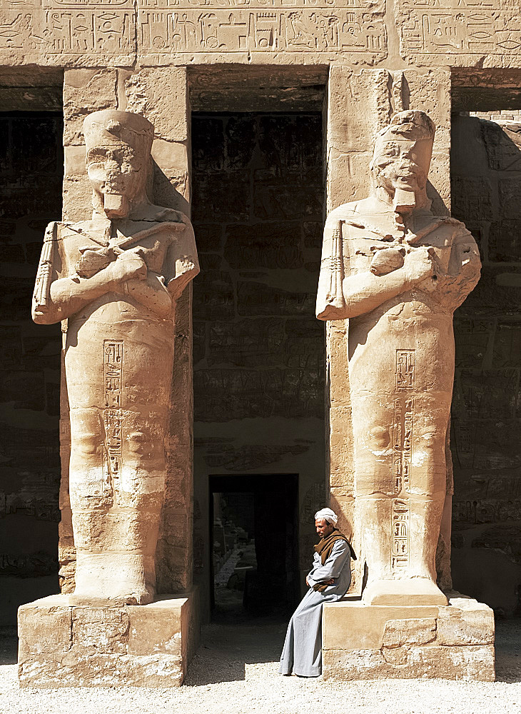 Temple of Ramses III, Karnak Temple, Thebes, UNESCO World Heritage Site, Egypt, North Africa, Africa