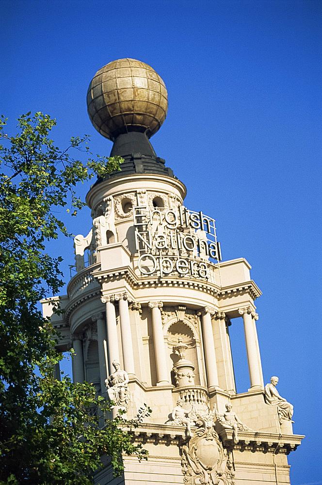 The English National Opera, St.Martin's Place, off Trafalgar Square, London, England, United Kingdom, Europe