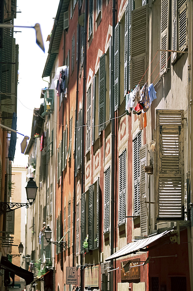 Old town, Nice, Alpes Maritimes, Provence, France, Europe