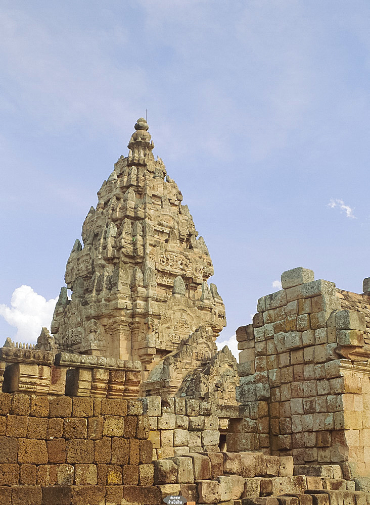 Central sanctuary, Prasat Hin Khao Phnom Rung, Khmer Temple, Khorat Plateau, Thailand