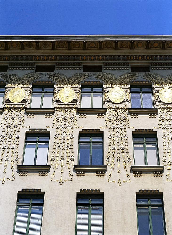 Wagner apartments, Vienna, Austria, Europe
