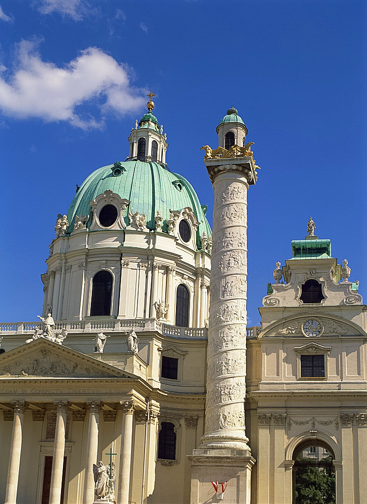 The Michaelertrakt, Hofburg Complex, Vienna, Austria, Europe