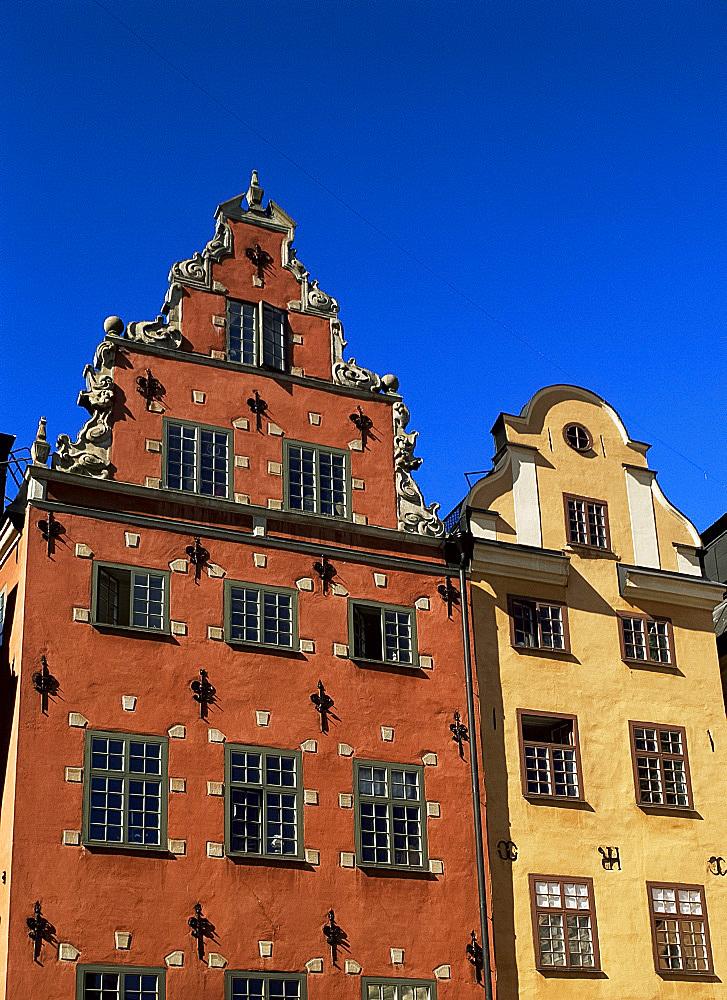 Stortorget, old town square, Gamla Stan, Stockholm, Sweden, Scandinavia, Europe