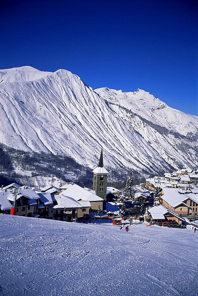 Saint Martin de Belleville, Haute-Savoie, French Alps, France, Europe