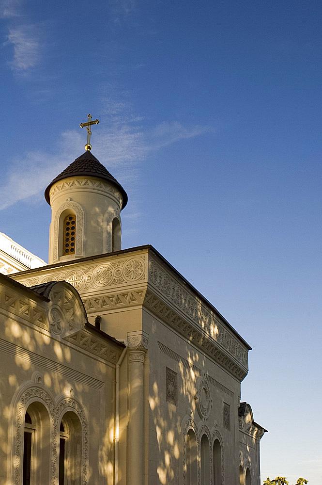 Church at the Livadia Palace, Yalta, Crimea, Ukraine, Europe
