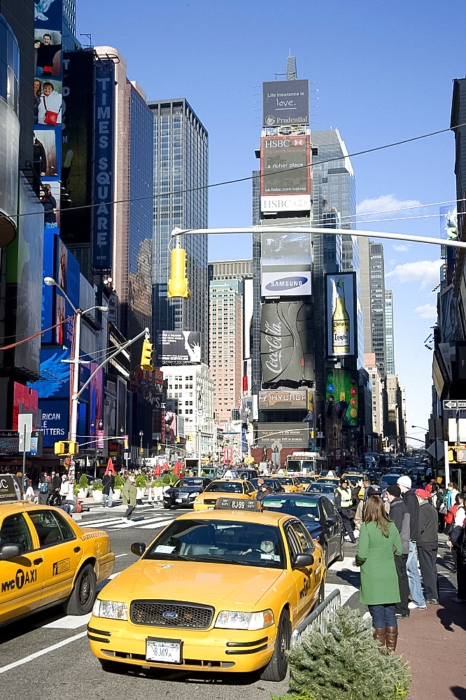 Times Square, New York, United States of America, North America